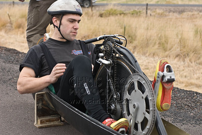 Sam Whittingham preparing for his run
