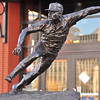 Bob Gibson Statue, full delivery