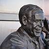 Jack Buck statue, where you can listen to play-by-play of great Cardinal moments as called by Jack Buck.