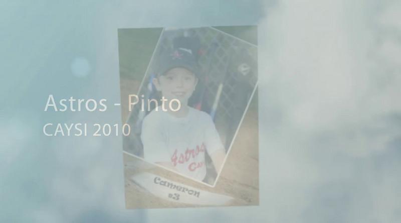 Astros - Pinto