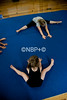 Girls Gymnastics at the Crsted Butte Town Hall, Colorado on Tuesday, July 17, 2012. (Nathan BIlow)