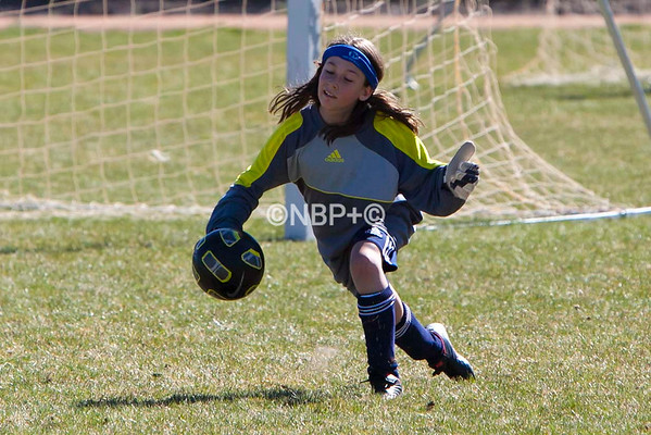 Crested Butte U12 soccer in Montrose, Colo. on April 21, 2012. (Photo/Nathan Bilow)