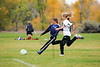 Crested Butte U12 soccer in Montrose, Colo. on Oct. 13, 2012. (Photo/Nathan Bilow)