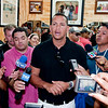 Alex Rodriguez makes a quick stop at Jordan's Sports Barber Shop in the Barbershop and talks about Yankee Pride and offers some words of advice to the Bronx kids present.