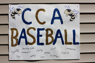 CCA Baseball Senior Game 2013