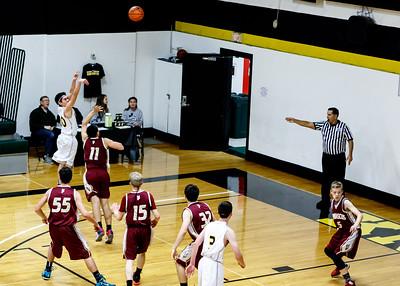 "5/6 CCHS Boys ""A"" Basketball vs North Clackamus"