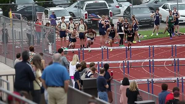 100 meter hurdles - boys