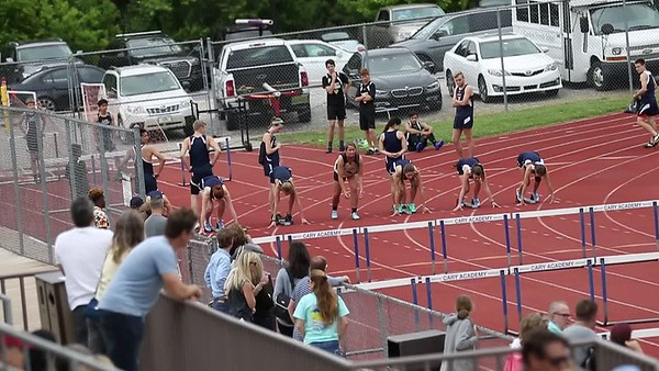 100 meter hurdles - girls