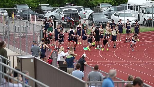 100 meters - boys