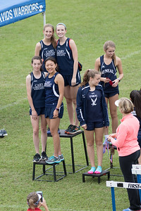 4x800 meter relay - CCS girls 1st