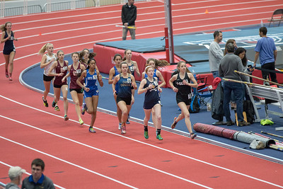 Brooke and Zoe in 1600 meter run