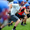 "Running Back JJ Scott at Centaurus High School during a practice of the Centaurus High School football team at the school in Lafayette Friday Evening August 24, 2012. For more photos of the practice go to  <a href=""http://www.bocopreps.com"">http://www.bocopreps.com</a><br /> Photo by Paul Aiken"