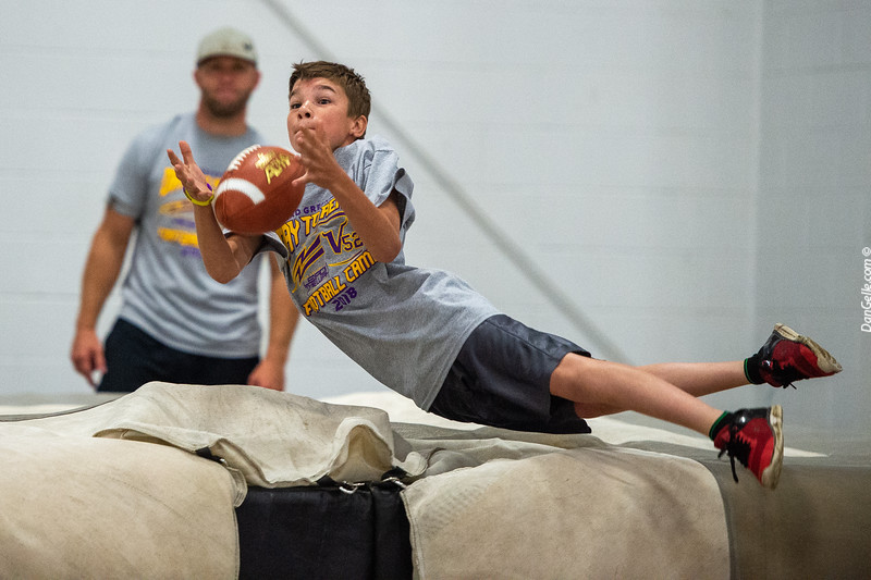 Chad Greenway Day to Reach Football Camp