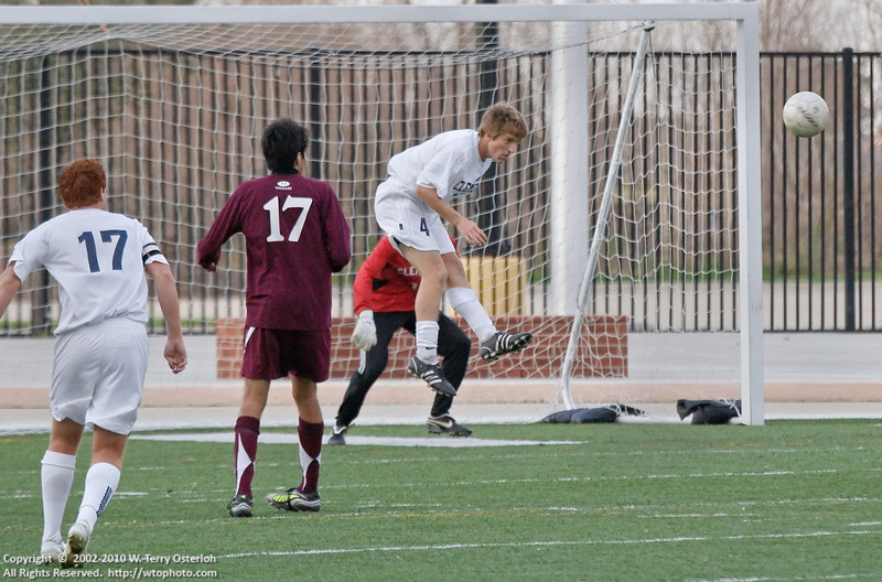 Cinco Ranch - CFISD Tournament - Championship Game - 1/10/2009<br /> Clements 1 - Cinco Ranch 0