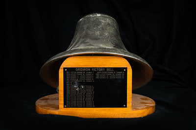 1957-82 CHS Cosmos Football Lester Prairie Gridiron Victory Bell
