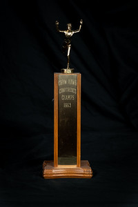 1963 CHS Cosmos Track Crow-Hawk Conference Champions