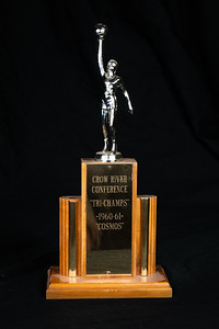 1960-61 CHS Cosmos Basketball Crow River Conference Tri-Champs