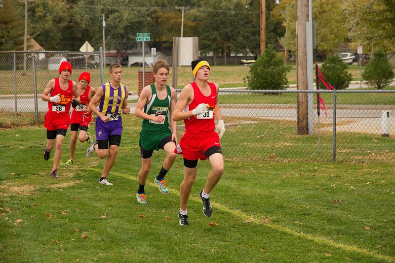 CC Regionals at Taylorville, 10/20/12