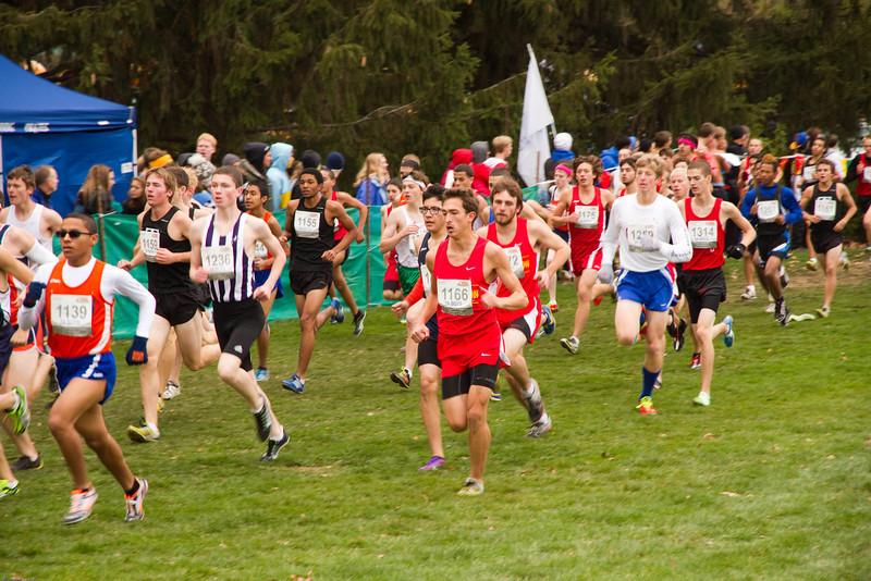 State cross country meet, Nov. 3, 2012, Peoria, Illinois