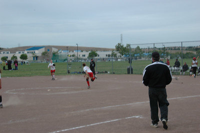 CHS vs DVHS JV Softball 5-3-07