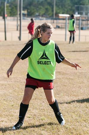 CHS Lady Arrows Soccer December 1, 2012
