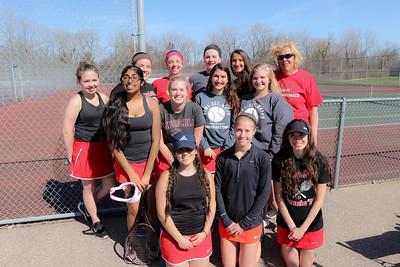 CHS Tennis 1st Week 2016