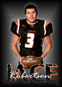 This can be ordered in  5x7, 8x10, or Wallet size Portraits.Price__5x7 $6.00--8x10 $10.00--Wallets set of 8 for $12.00 ~ customized with your players photo and name.