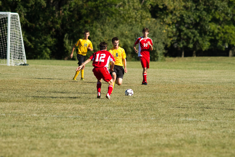 CHS vs. Jacksonville at Red & Gold, 8/27/11.  Lost 0-3