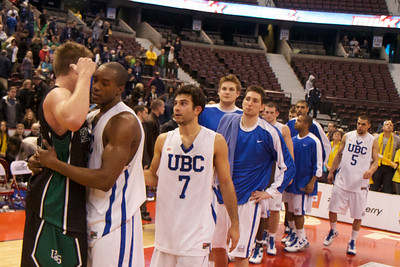 2010 CIS Men's Basketball Championships, Saskatchewan vs UBC