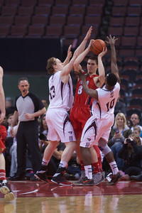 2013 CIS Mens Basketball, Bronze Medal Game, Acadia 85 - uOttawa 92