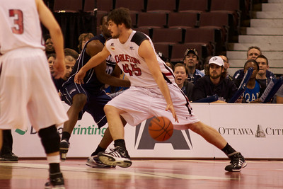 2010 CIS Men's Basketball Championships, QUAM vs Carleton