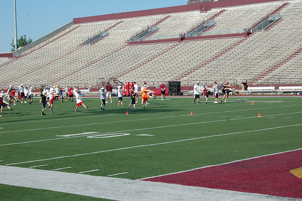 CMU Football Camp 2012