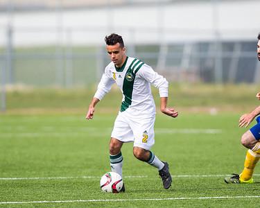 CMU Men's Soccer 2015 - BU