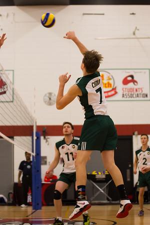 CMU Men's Volleyball 2014-15