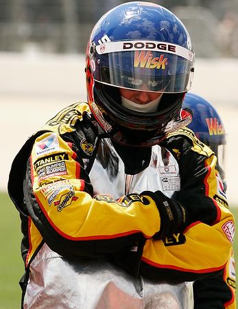 Pit crew member of the Wisk racing team,Nashville motor-speedway