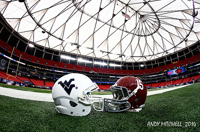 NCAA FOOTBALL: AUG 30 Chick-fil-A Kickoff Game West Virginia v Alabama