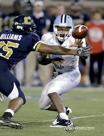 The Citadel vs the Chattanooga Mocs in a Southern Conference matchup held at Finley Stadium in Chattanooga Tennessee