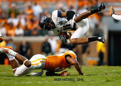 NCAA FOOTBALL: AUG 31 Utah State at Tennessee