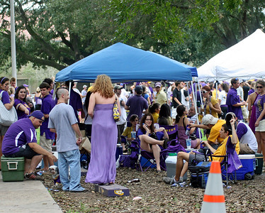 COLLEGE FOOTBALL 2008:  North Texas @ LSU in Baton Rouge.  LSU wins.