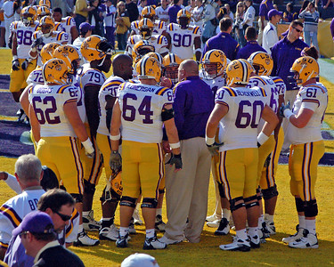 COLLEGE FOOTBALL 2008: Ole Miss vs. LSU at Baton Rouge.  Ole Miss wins.