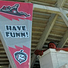 "The new team if you haven't noticed the banner will be known as The Flying Squirrels: Resolve to put fanny's in the seats at any cost. Even if they have too expel ""Connecticut'. My suggestions: Serve real squirrels at concessions: grilled, fried, raw, squirrel on a stick."