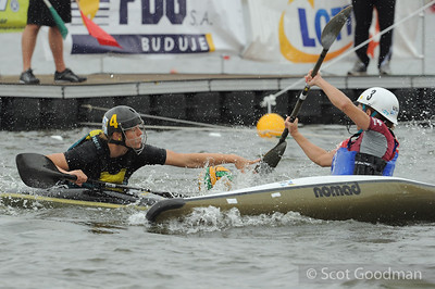 ICF 2012 Canoe Polo World Championships, Poznan Poland. Copyright Scot Goodman.