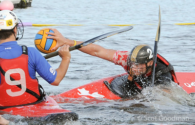 US Kayak Polo National Championships. Mountain View California, September, 2013. Photo © Scot Goodman.