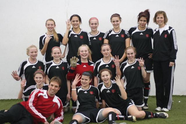 2008 U14 Girls Champions - Toyota Indoor Cup