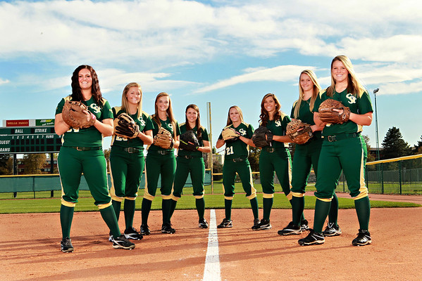 CSU Softball Team 2012-13