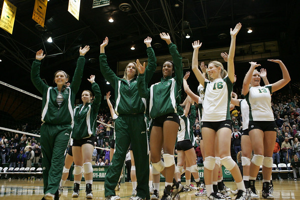 CSU vs. MTSU Volleyball 09