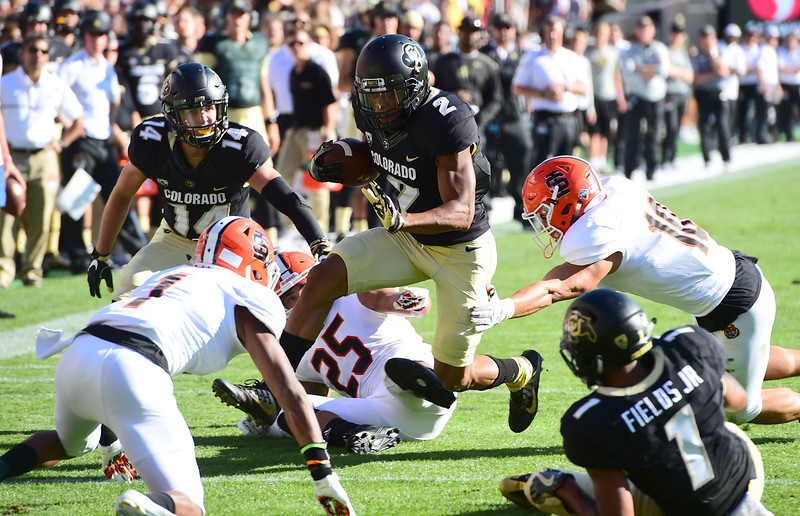 Locked In Cu Buffs Have No Problem With Idaho State Buffzone