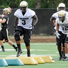 "University of Colorado's Douglas Rippy, No. 3, during football practice on Monday, Aug. 6, at the CU practice field in Boulder. For more photos of the practice go to  <a href=""http://www.dailycamera.com"">http://www.dailycamera.com</a><br /> Jeremy Papasso/ Camera"