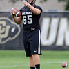 "University of Colorado's Keegan LaMar during football practice on Monday, Aug. 6, at the CU practice field in Boulder. For more photos of the practice go to  <a href=""http://www.dailycamera.com"">http://www.dailycamera.com</a><br /> Jeremy Papasso/ Camera"