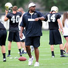 CU head coach Jon Embree at practice at the University of Colorado in Boulder, Colorado August 9, 2012.  DAILY CAMERA MARK LEFFINGWELL